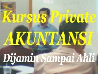 Kursus Akuntansi Private Dijamin Sampai Ahli